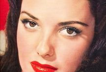 """""""LINDA DARNELL"""" / Born: 16 Oct 1923 Died: 10 April 1965-41yrs [House Fire]  (#1)..m.1944-Div.1952 Peverell Marley (1901-1964)-1ch... A. Charlotte Mildred Adams """"Lola"""" (b.1948-Adopted);  (#2)..m.1954-1955 Philip Liebmann  (#3)..m.1960-1963 Merle Roy Robertson  FILMS:  THE MARK OF ZORRO (1940) BLOOD & SAND (1941) MY DARLING CLEMENTINE (1946) *FOREVER AMBER (1947) A LETTER TO THREE WIVES (1949)"""