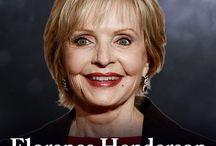 *FLORENCE HENDERSON* / BORN: 14 Feb.1934 DIED: 24 Nov. 2016-82yrs [Heart Failure]  (#1)..m.1956-Div.1985 Ira Bernstein-4ch;  (#2)..m.1987-2002/His Death John Kappas; ---------------------------- THE BRADY BUNCH (1969-1974) CAST: -ROBERT REED( 1932-1992)-Mike Brady -ANN B.DAVIS (1926-2014)-Alice 1-BARRY WILLIAMS (b.1954)-Greg 2-MAUREEN McCORMICK (b.1956)-MARCIA 3-CHRISTOPHER KNIGHT (b.1957)-Peter 4-EVE PLUMB (b.1958)-JAN 5-MIKE LOOKINLAND(b.1960)-Bobby  6-SUSAN OLSEN (b.1961)-Cindy