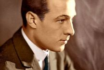 """""""RUDOLPH VALENTINO"""" / BORN: 6 May 1895 DIED:  23 August 1926"""