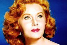 """RHONDA FLEMMING"" / BORN: 10 Aug. 1923 DIED:    (#1)..m.1940-Div 1942 Tom Lane -1ch... A-Kent (b.1941)-2ch --Kimberly --Kelly [4 Great-Grandchildren: Wagner; Paige; Lane; Cole]  (#2)..m.1952-Div 1954 Dr. Lewis Morrill ;  (#3)..m.1960-Div.1962 Lang Jeffries;  (#4)..m.1966-Div 1972 Hall Bartlett (1922-1993);  (#5)..m.1977-2001/His Death  Ted Mann (1916-2001);  (#6)..m.2003 Darol Wayne"