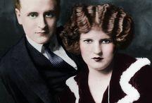 "**F.SCOTT-ZELDA FITZGERALD** / F.SCOTT  Born:24 Sept 1896 Died: 21 Dec. 1940-44yrs (Heart Attack)  ZELDA [SAYRE] Born: 24 July 1900 Died: 10 Mar.1947-47yrs (Fire) ---------------------------- m.1920-1940/His Death-1ch...  --CHILDREN--  A-FRANCES""Scottie""  Born: 26 Oct 1921 Died: 18 July 1986-64yrs  (#1)..m.Samuel Jackson""Jack"" Lanahan -4ch... A-Thomas""Tim"" 1946-73)-Suicide/27yrs; B-Eleanor; C- Samuel Jr.; D-Cecilia;  (#2)..m. Grove Smith( d.2001)..Div 1979;"