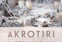 **AKROTIRI/THERA** / SANTORINI