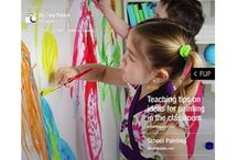 School Paints / School painting for everyone - A source of inspiration to get the best from educational school paints. Free ideas for easy crafts and activities for kids in the classroom. www.schoolpaints.com