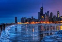 Sweet home, Chicago / Chicago born and bred! No other big city is as clean or beautiful! Colorful reputation and skyline. / by Mary Morgan