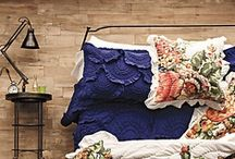Bedroom. / I am obsessed with duvet covers. Wouldn't it be awesome to have one for every week? / by Isabell Fig