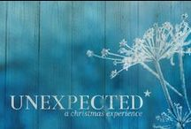 Unexpected / Thoughts, ideas, designs, inspiration and more for Unexpected: A Christmas Experience 2013