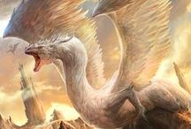 Stunning Fantasy Art / A collection of the fantasy art that fills me with complete awe. Includes figures like wizards, mages, sorcerers and oracles; mythical creatures like dragons, phoenixes and... dragons; and landscapes.