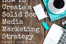 Social Media Tips + Tricks / Finding yourself struggling with your social media strategy?  Take a look at some of these awesome tips!