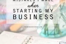 Business Tips + Tricks / Recently start your own business? These tips and tricks will help you get started and succeed!