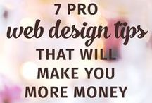 Great Web Design / Consider your website your business' portfolio.  These are some of our favorite designs and website design tips.