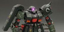 Gundam, Mechs & Robots