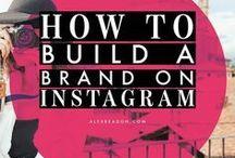Instagram Marketing Tips / Instagram marketing for businesses, tips for marketing on Instagram, Promote your business with Instagram