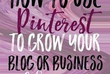 Pinterest Marketing Tips / Find our favorite tips and tricks for successful marketing on Pinterest.