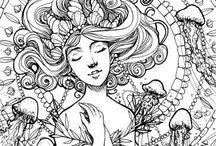 Kalender Eigenart Bullet Journal Zeichnung Malen Inspiration Tattoo painting art / Für alle die etwas suchen zur Anregung ob Zeichnen, Töpfern, Tattoos Applikationen oder einfach so stöbern wollen.