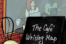 Writing in Cafés / All writers, at some point, rely on a café to write in. The comfort of people around you, the sounds, the attention to your basic needs: warmth, food, company, and drink. Or maybe it's to do with romance, a steady supply of subject matter, or just being left alone. There are no excuses not to write when in a café. For inspiration, visit a café or check out http://www.writingmaps.com/