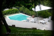 Gardens and pools / giardini