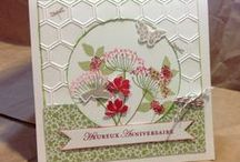 Stampin up Summer Silhouettes / Examples of projects using the stampset Summer Silhouettes from Stampin up