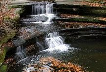 Waterfalls of LaSalle County / LaSalle County is scenic, friendly, and brimming with all sorts of fun things to do. In fact, it's a favorite getaway for families, fishermen, climbers, campers, cyclists, cross-country skiers and history buffs alike! Come see our gorgeous waterfalls!