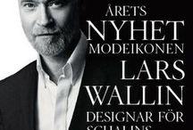 Lars Wallin designade ringar för Schalins of Sweden / Snygga designade ringar av Lars Wallin