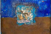 Portfolio / Collages, rust & patina / www.anna-galkina.de