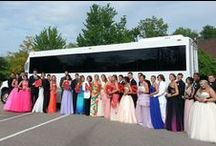 Prom Limousines and Party Buses / For the most memorable night of your lives, celebrating a great accomplishment of 12 years of hard work, choose from our large variety of limos. You will be able to choose from our luxury coaches, SUV's, and new luxury sedans and limousines to make your night unforgettable. #prombus #limobus #coachbus #promlimousine #detroitprom #promlimo #michiganpromlimo #prompartybus