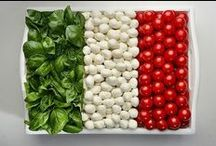 Play With Your Food / How creative can you be with your food? Can you make a countries flag using only food? Show us by pinning to our board! Plus invite your friends ... prizes to be won :)