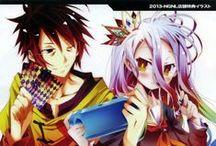 No game No Life / Anime, Light Novel