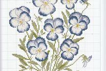 Cross Stitch ~ Floral ~ Plants