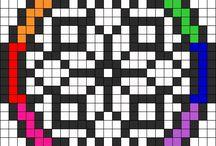 Cross Stitch ~ Mandala ~ Snowflake