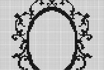 Cross Stitch ~ Borders