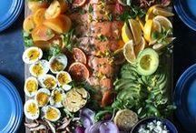 Salade recepten / Recepten voor salades. Gezonde salade met groenten. Dressing voor salade, Griekse salade, salade met komkommer, quinoa, waldorf salade, caprese. Recepten Nederlands salade.
