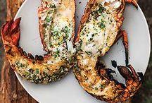 Vis recepten / Recepten met vis. Vis uit de oven, ovenschotel met vis. Gerechten met vis. voorgerecht, hoofdgerecht.  Salades en hapjes, amuse met vis.  vis pannetje, vis curry. vis bakken of op de barbeque. papillot. Zeeduivel, kabeljauw, makreel