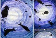 Art & Crafts for school / Art for art teachers