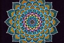 Yantras/Mandalas / Yantra function as revelatory conduits of cosmic truths and are invested in the various lineages of tantric transmission as exterior and interior sacred architecture that potentiate the accretion and manifestation of siddhi through meditation and trance.