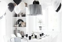 Inspo ☆ Party, table, wall