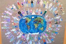 Föld Napja, Víz Világnap, Madarak és Fák Napja / Iskolai dekoráció. Föld Napja- Earth Day, Víz Világnap, Madarak és Fák Napja