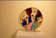 arte / esculturas en ceramica