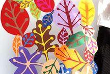 Fák, levelek- Trees, Leaves / Fák, levelek, kreatívan.