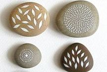 Festett kövek- Painted stones