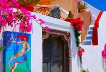 Colourful Destinations / The most enticing places around the globe. From vibrant Indian markets to Cuba's old fashioned taxis!