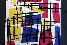 Art projekt- Mondrian