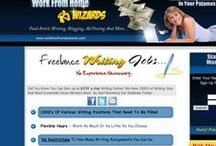 Work From Home Wizards / Work from home wizards is a full business center and has 2 databases. One is the business training database filled with bonuses, training, tools and software and the other half is the VIP section filled with 100's of hand picked freelance writing jobs with a bonuse of other jobs listing from A-Z... All 100% FREE to join..