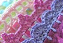 Crochet Patterns for Edgings, Trims, Blanket Borders ............
