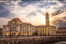 Oradea City Hall / Photography from city Oradea ( Bihor , Romania )