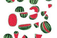 watermelon party / des pastèques et un thème festif ! youpi