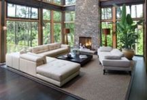 Interiors / outdoors / Interior Houses