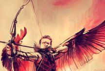Renner=Hawkeye / Clint Barton.