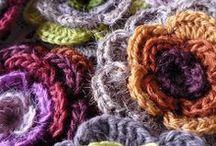 crochet Flowers / *