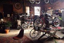 garaż, garage / Wszystko o garażach, Pomysły, adaptacje, co bym chciał mieć.