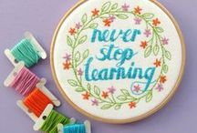 Embroidery Patterns & Tutorials